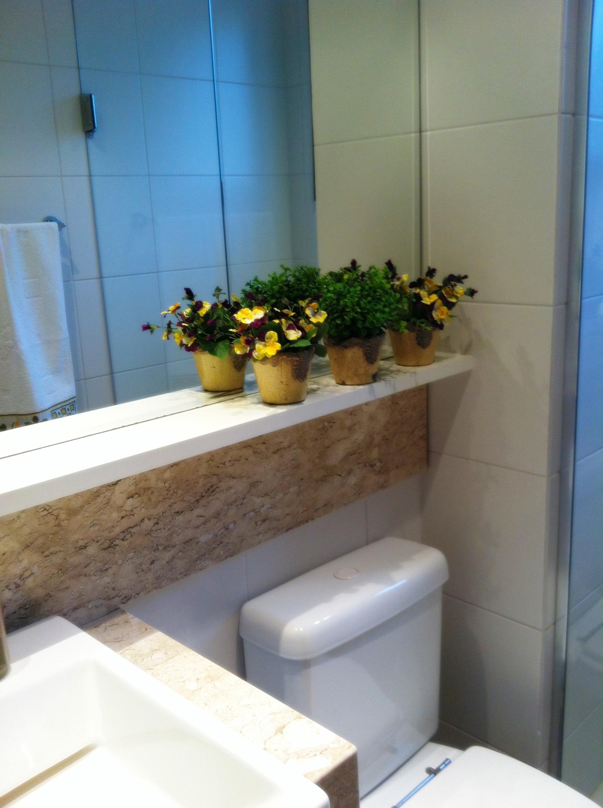 Antes e Depois do meu banheiro! A CASA DAS GURIAS #316B9A 1936 2592