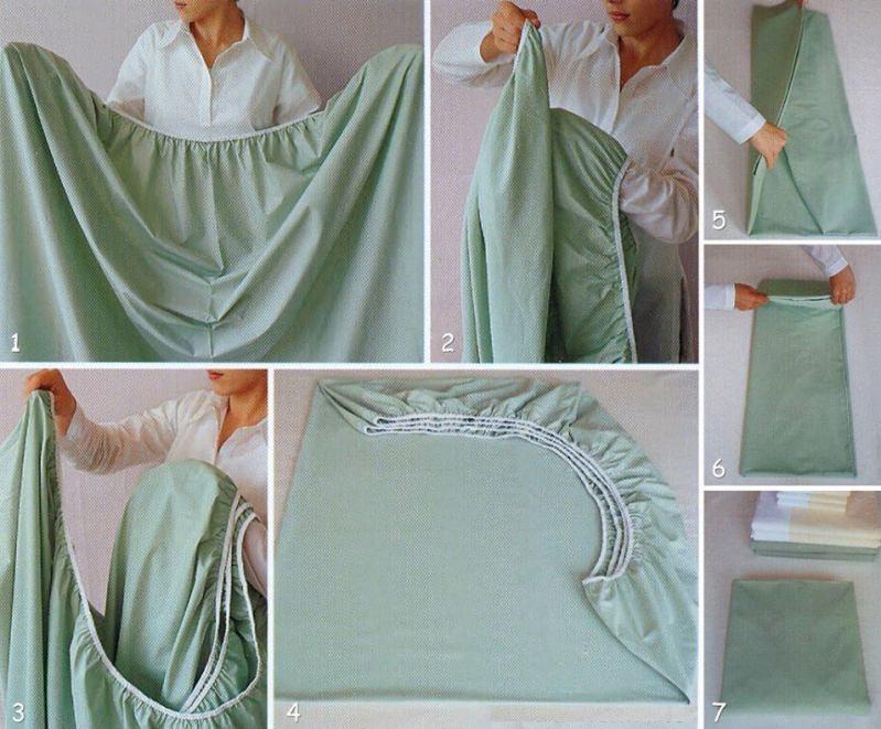 Como dobrar lençol de elástivo_ACDG