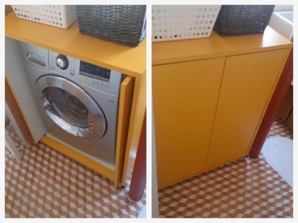 Essa caixa amarela está à venda no Mercado Livre por R$ 690,00.